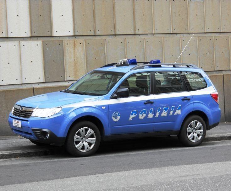 Italian Polizia Subaru Forester Genoa Italy 2011 Police Cars