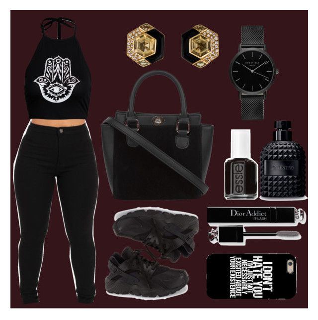 """Untitled #129"" by alexia2018 ❤ liked on Polyvore featuring NIKE, Christian Dior, Essie and Valentino"