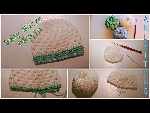 Baby Mütze Häkeln Anleitung Biggistubee Youtube Diy Crochet