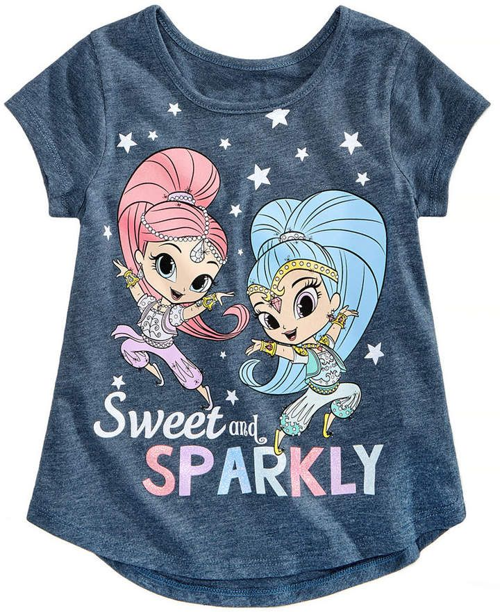 4c76d6fde Nickelodeon Toddler Girls Sweet   Sparkly Cotton T-Shirt
