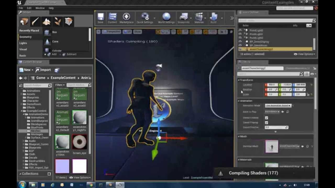 UE4 Blender Character Animation Export & BVH Retargeting ~ KingBadger3D