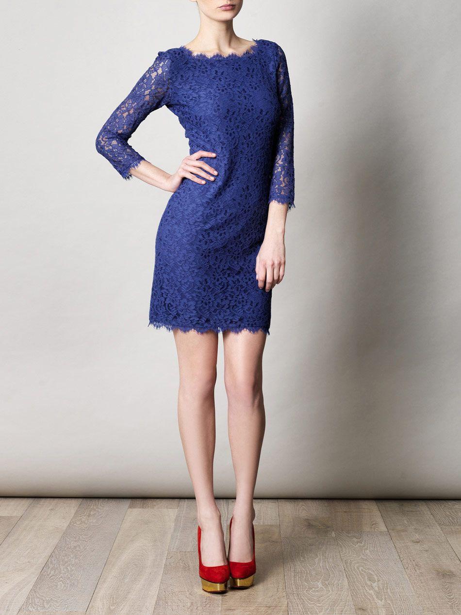 Dvf zarita dress royal blue red platforms ud success fashion