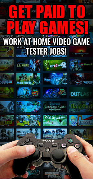Become A Video Game Tester And Get Paid Learn How To Job As