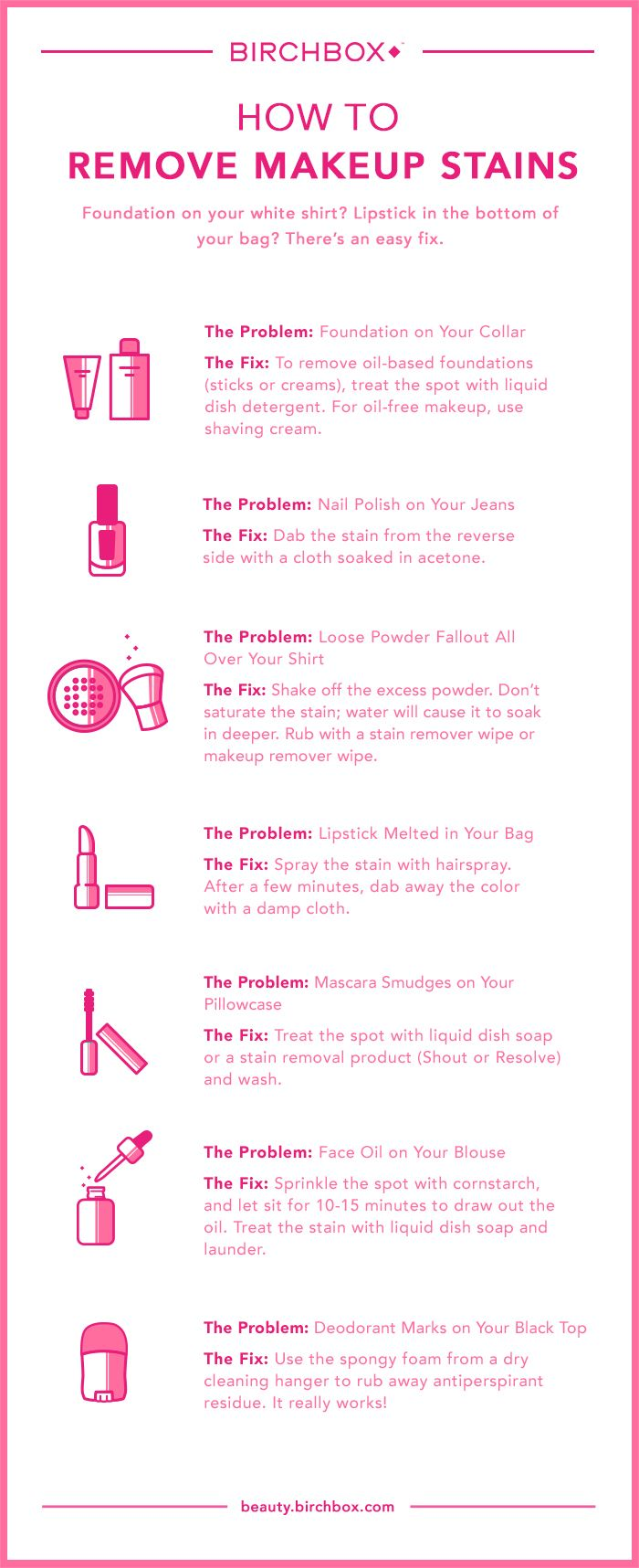 How to Get Rid of Every Type of Makeup Stain Remove