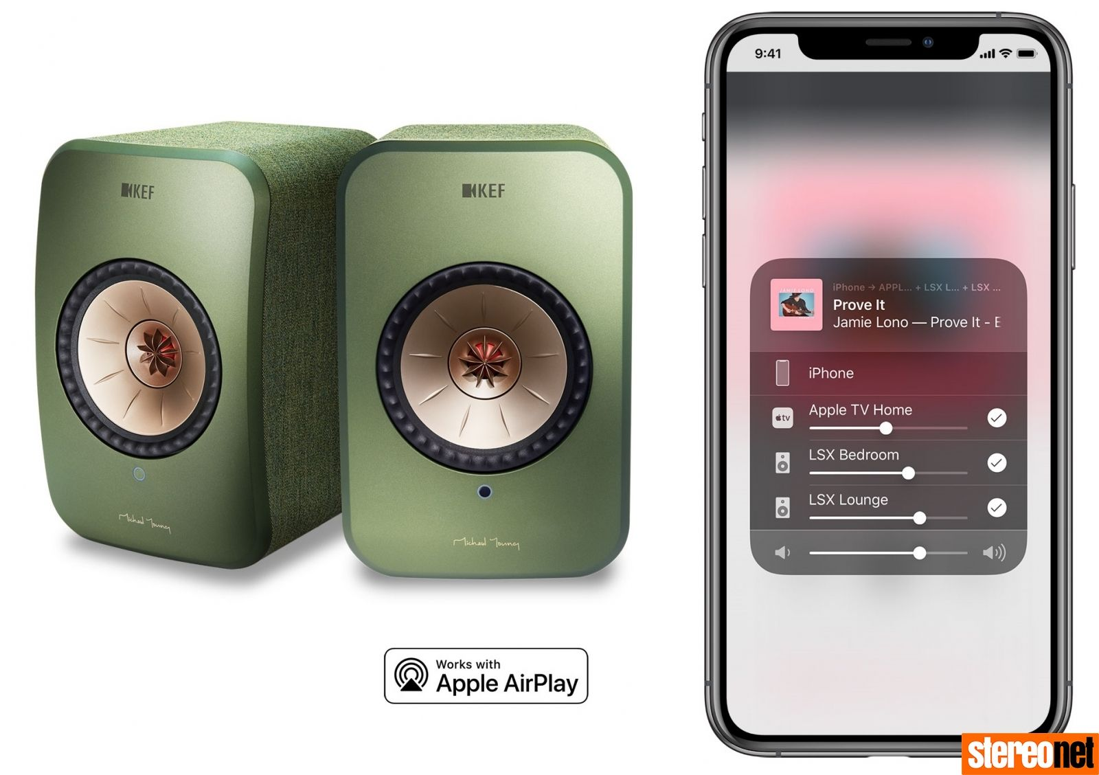 KEF LSX Gains MultiRoom Skills Through AirPlay 2 Update