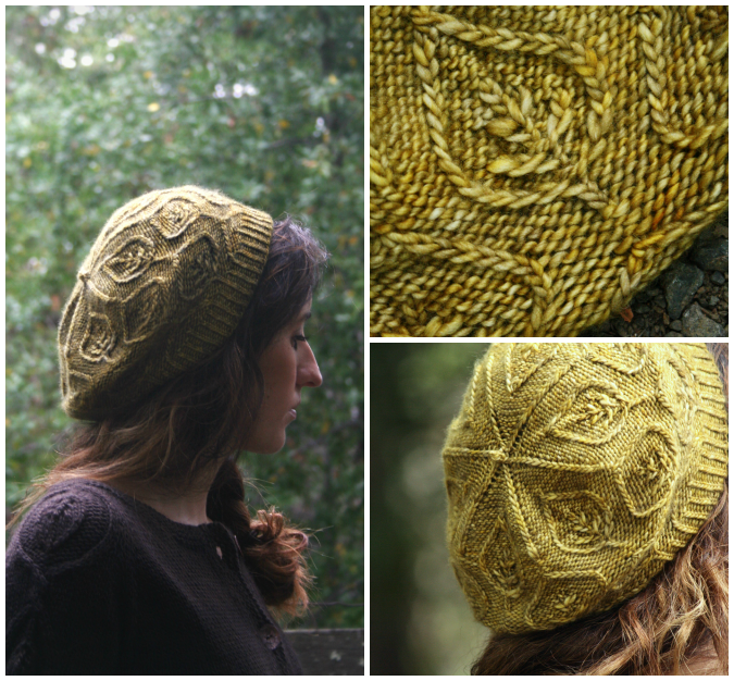 Pressed Leaves--from, Botanical Knits