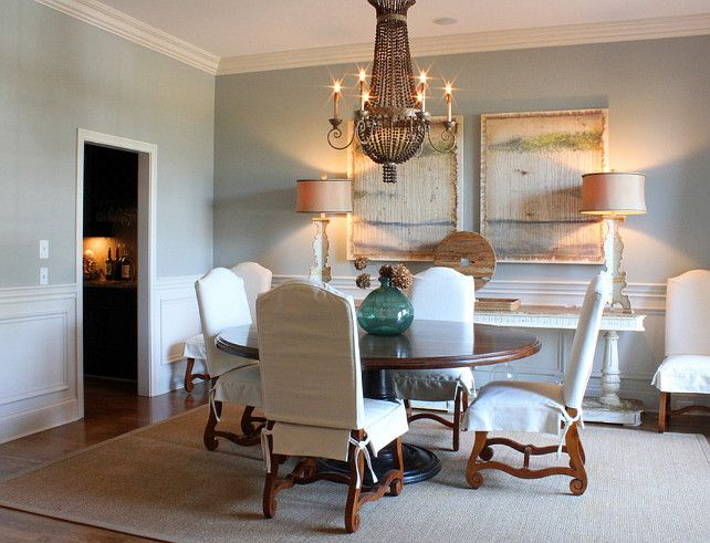 Dining room paint color ideas benjamin moore 2137 50 sea - Interior dining room paint colors ...