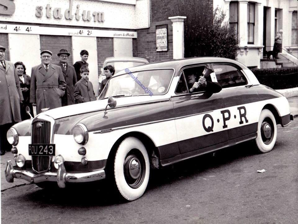 4th march1967off to wembley in style qpr queens park