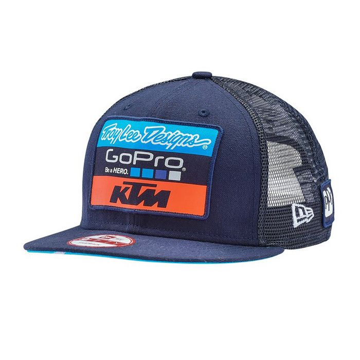55db3f957ed6c Casquette Troy Lee Designs Team KTM GoPro Snapback 2018