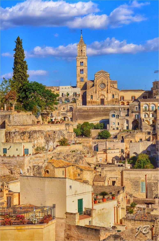 Matera Basilicata Italy Basilicata シーア e 街並み
