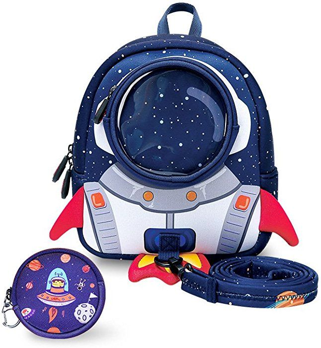 c312e68f868 YISIBO Rocket Toddler Backpack with Harness Leash Snack Nursery Bags for  Kids Baby Boy Girl 1-3 Years Old