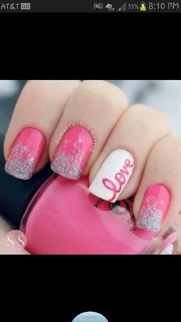 60 Incredible Valentines Day Nail Art Designs For 2015 Pinterest