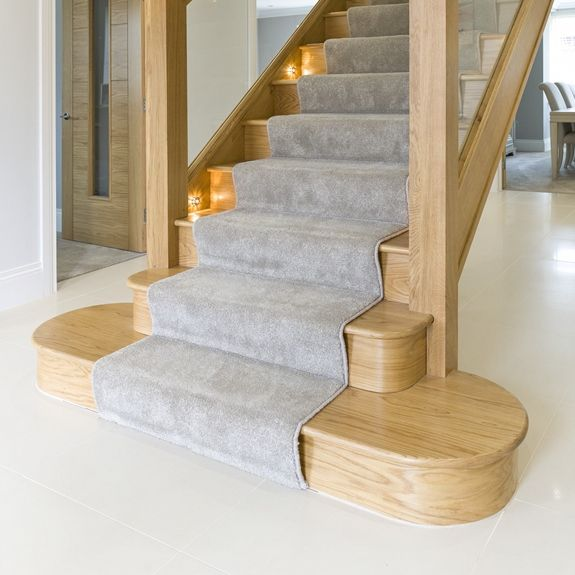 Bottom Stair Tread Design Options Multi Turn In 2020 | Wood Stair Tread Manufacturers