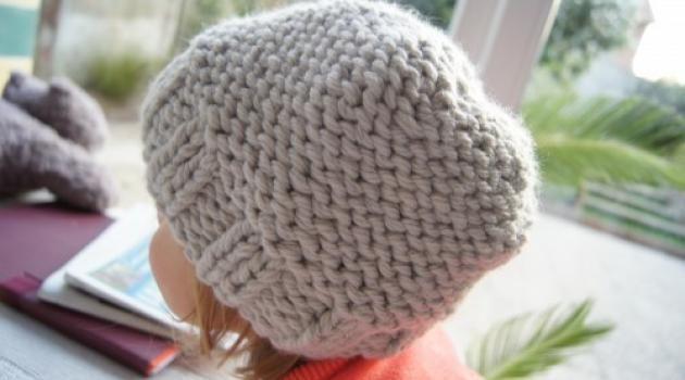 tricoter un bonnet bebe 1 an