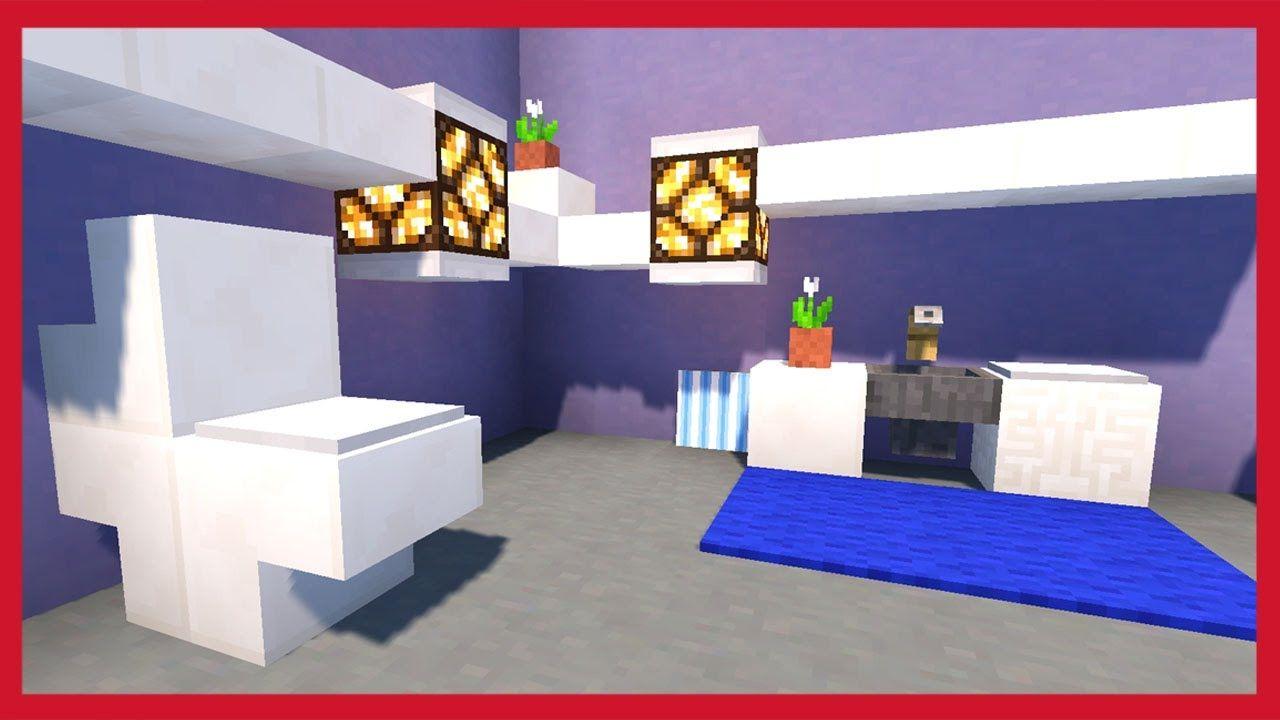 Minecraft: Come Costruire Un Bagno   Tutorial Minecraft   Pinterest ...
