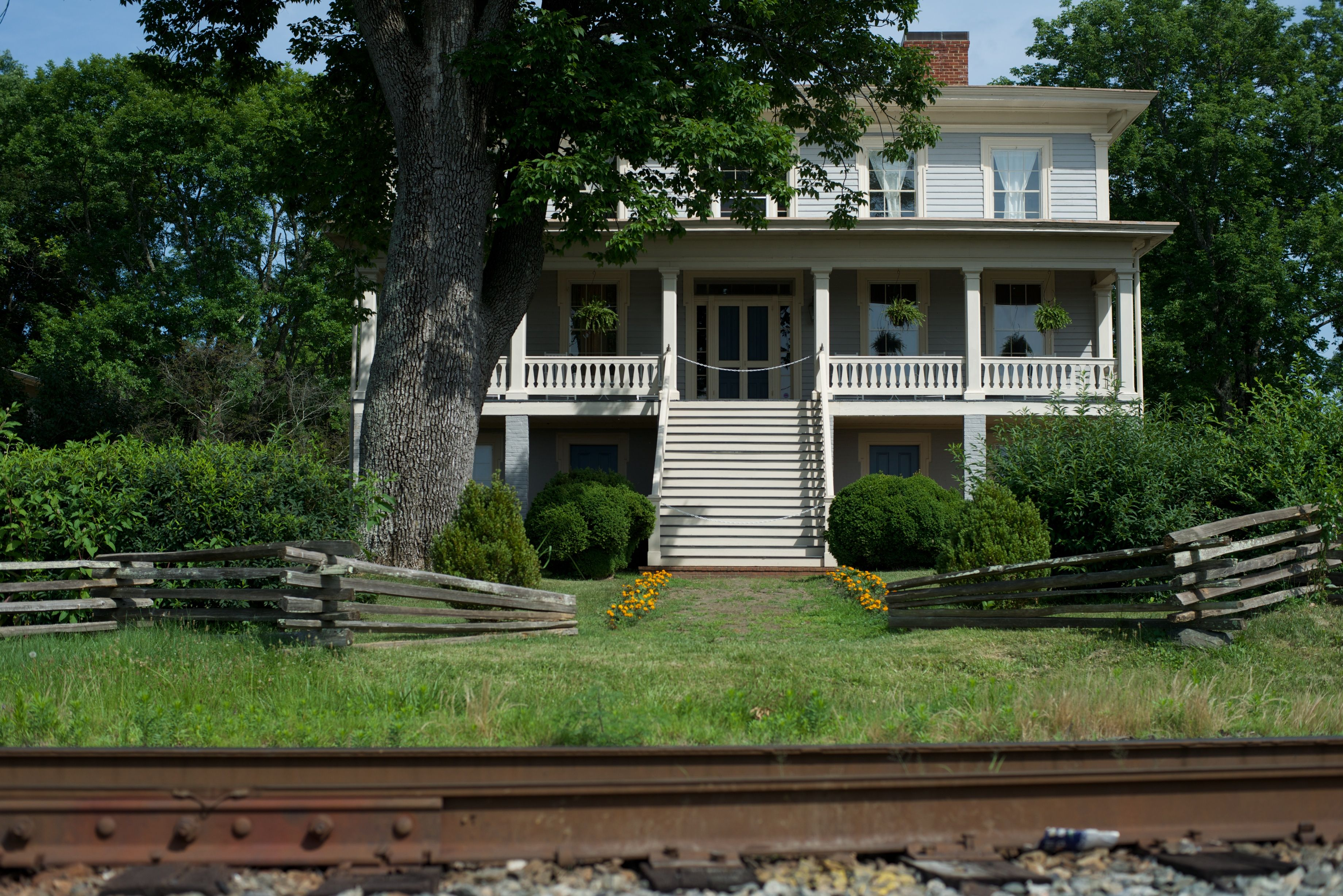 The Exchange Hotel And Civil War Museum In Gordonsville Va Served As A Receiving Hospital During