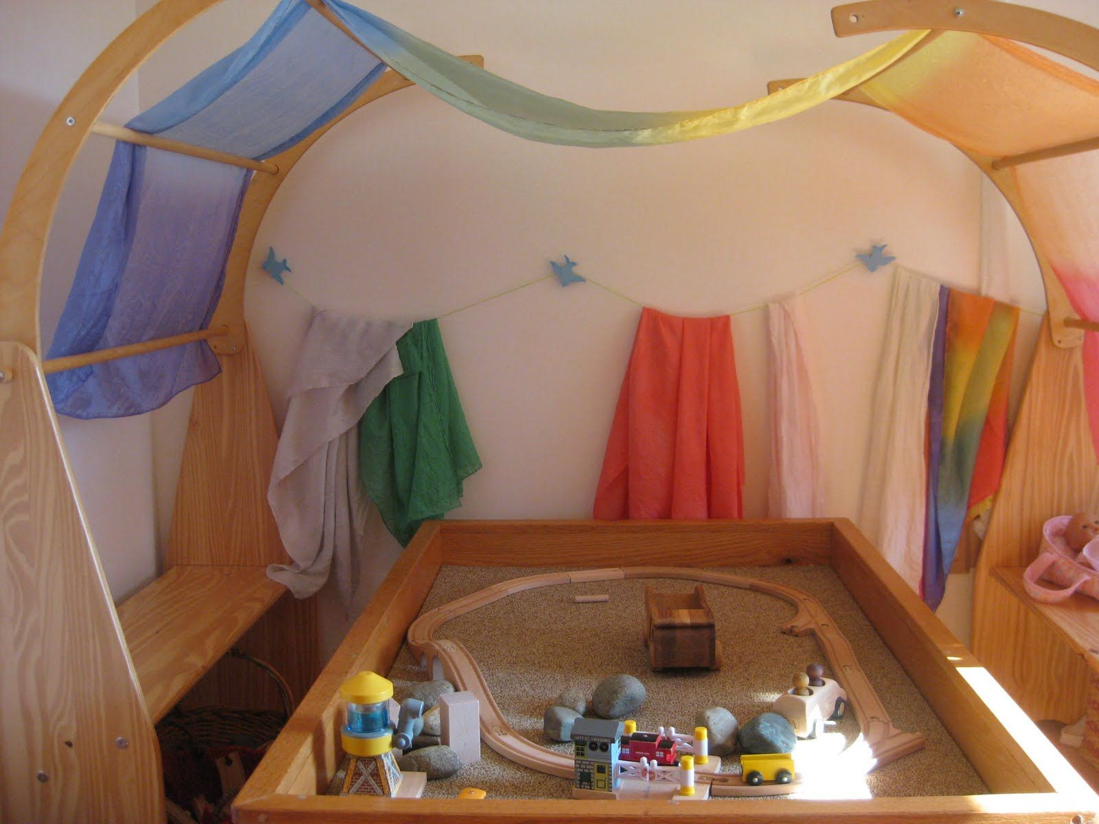 Image result for waldorf classrooms Playroom