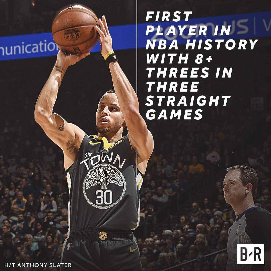 Steph Makes More 3-Pt History In Win