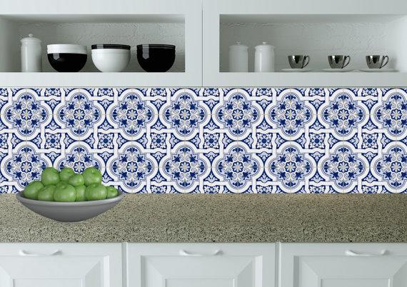 Set di 24 piastrelle adesivi bagno piastrelle messicano piastrelle