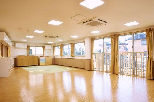 spacious interior nursery school japanese plan idea | kid ...