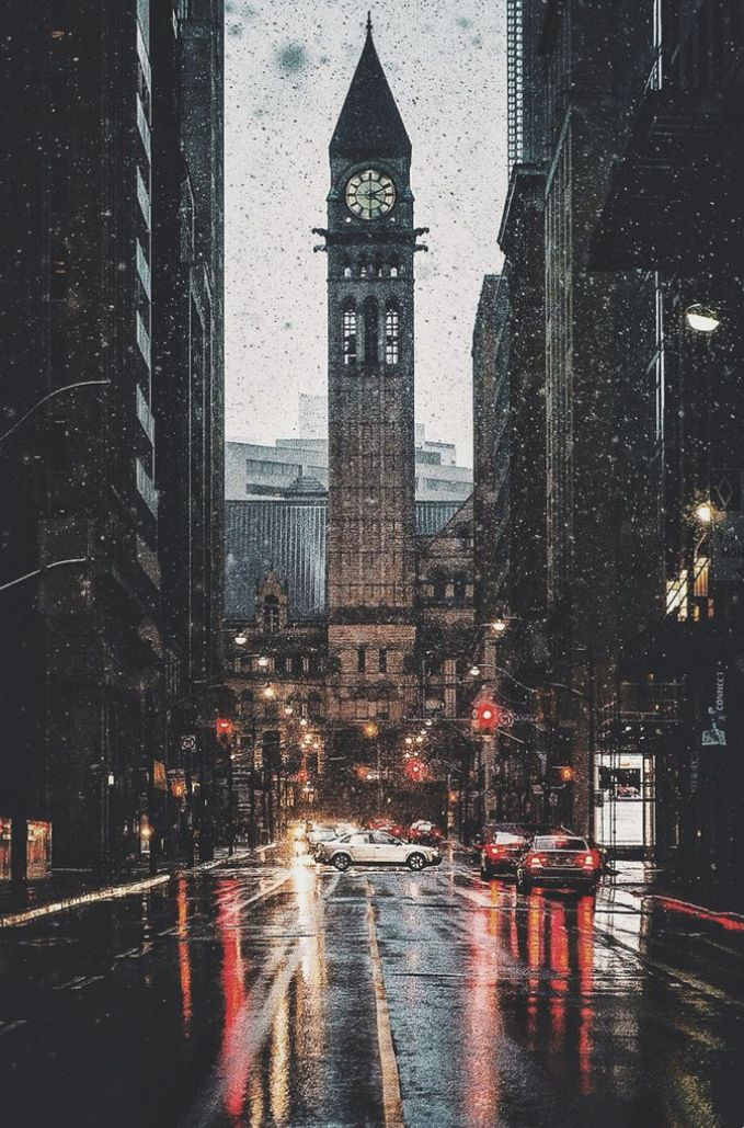 Rainy Street Wallpaper Rain Winter Cold Love