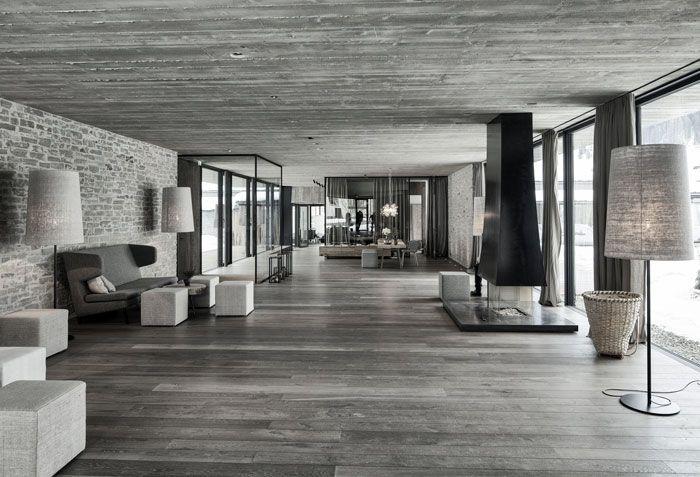 Elegant Hotel in Austria Concrete and Granite