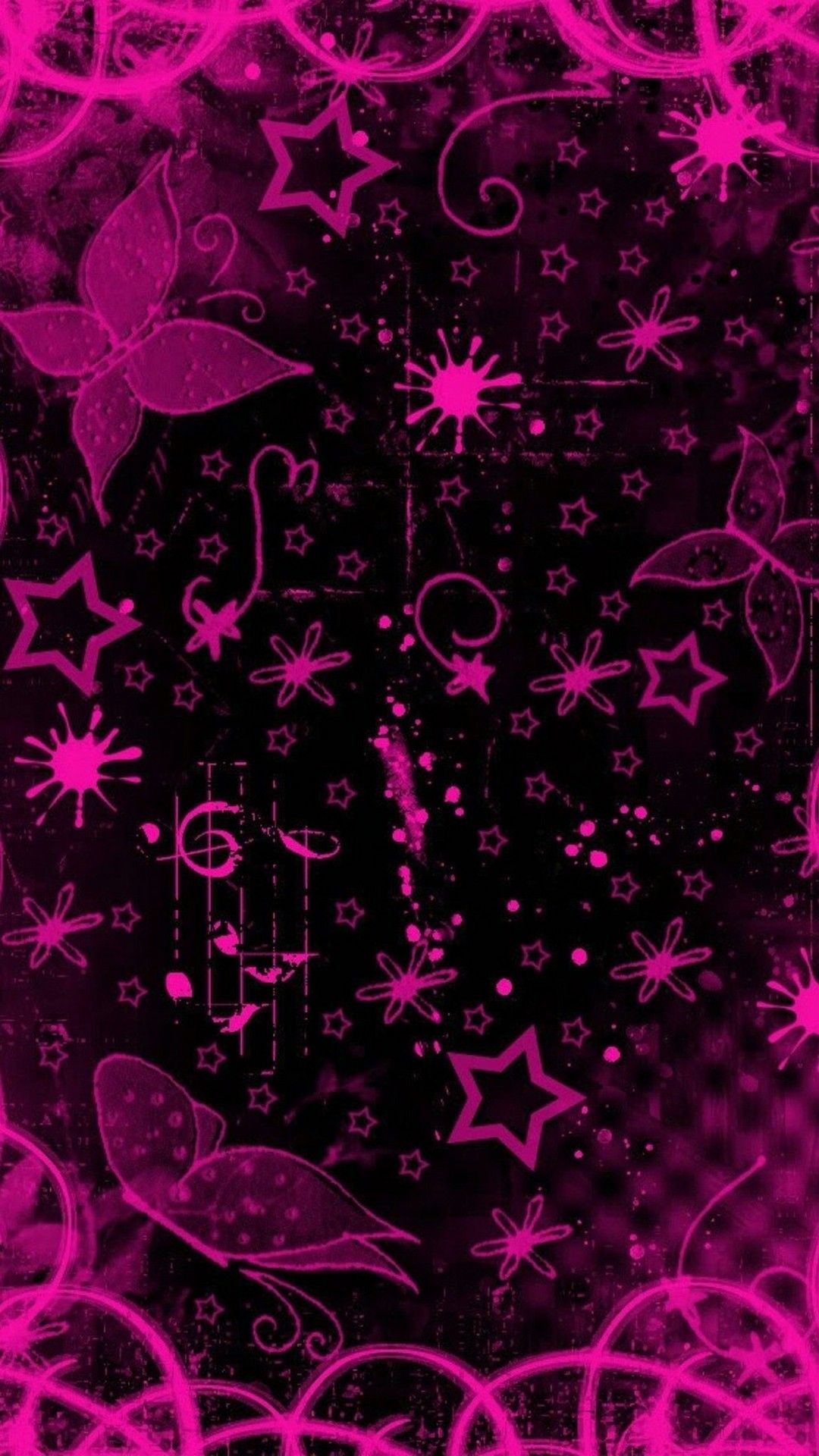 Best Black and Pink iPhone Wallpaper | iPhoneWallpapers | Iphone wallpaper, Black wallpaper ...