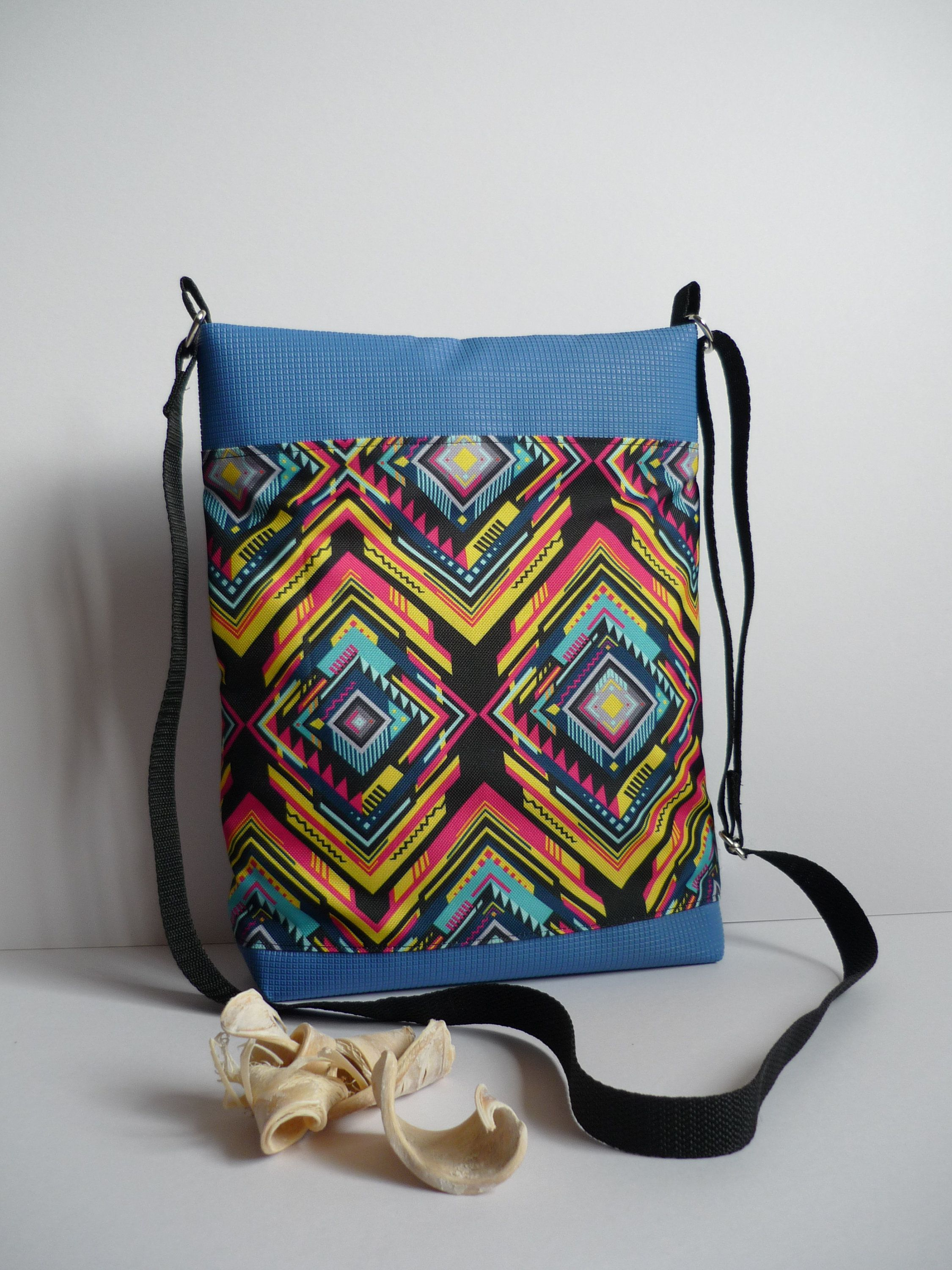 ee08afefe Blue tribal style crossbody handbag leatherette bag Etno design purse Vinyl  Leatherette Summer style Mothers Day gift for ladies, mothers by  OriginalByShary ...