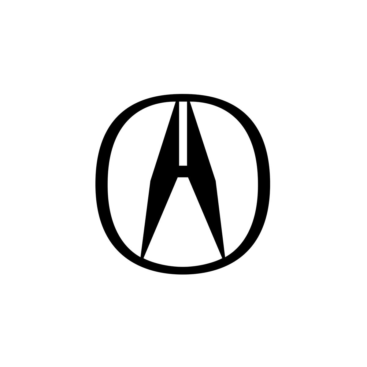 Acura Logo Japan Single Letter Logo Letter Logo Lettering