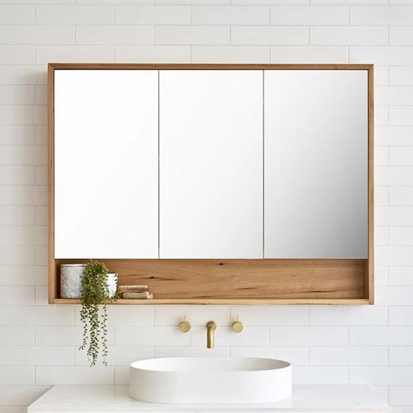 Loughlin Furniture Elanora Mirror Cabinet In 2020 Mirror Cabinets Small Bathroom Mirrors Bathroom Mirror With Shelf