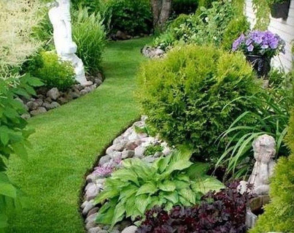 Incredible Low Maintenance Front Yard Landscaping Ideas 21 Front Yard Landscaping Rock Garden Landscaping Low Maintenance Garden