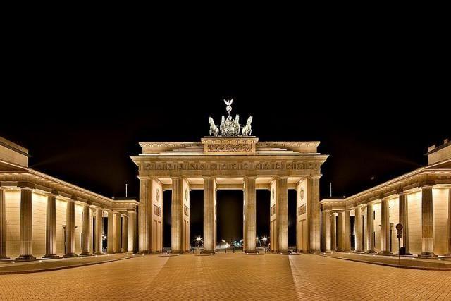 Arco De Berlin Alemania Brandemburgo Berlim Arquitectura Neoclassica