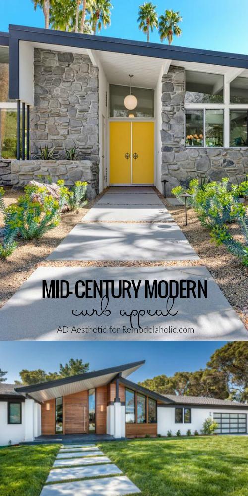 Mid Century Modern Curb Eal