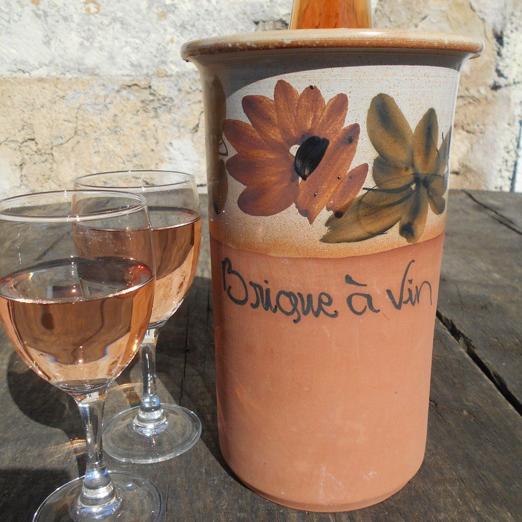 French Rustic Terracotta Brique A Vin Wine Brick Wine Cooler Brique Vin