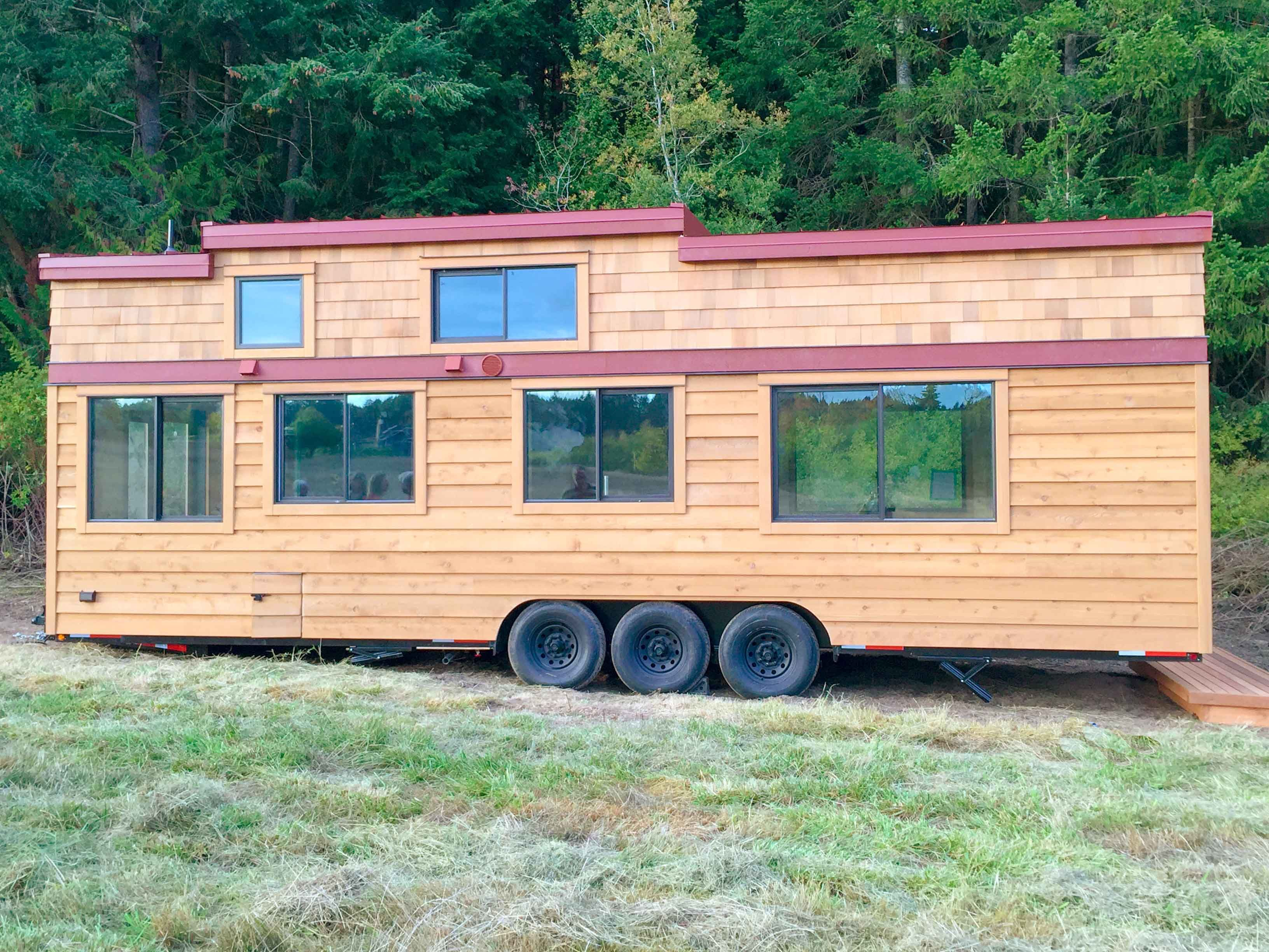 The Chinook Tiny House is 10u2032 Wide