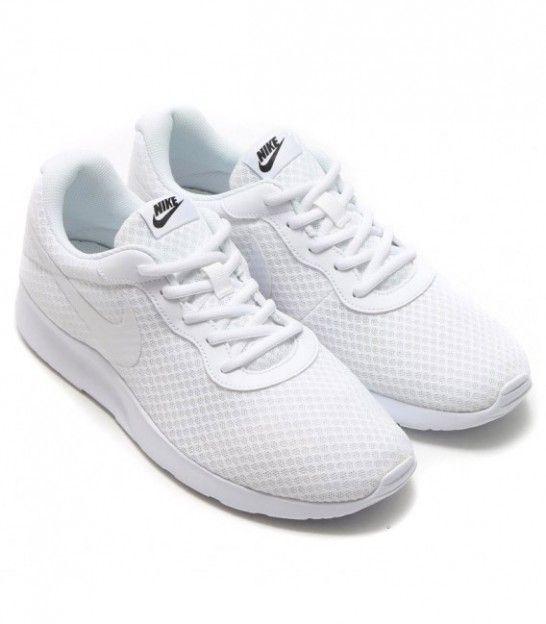 zapatillas nike tanjun blanco mujer