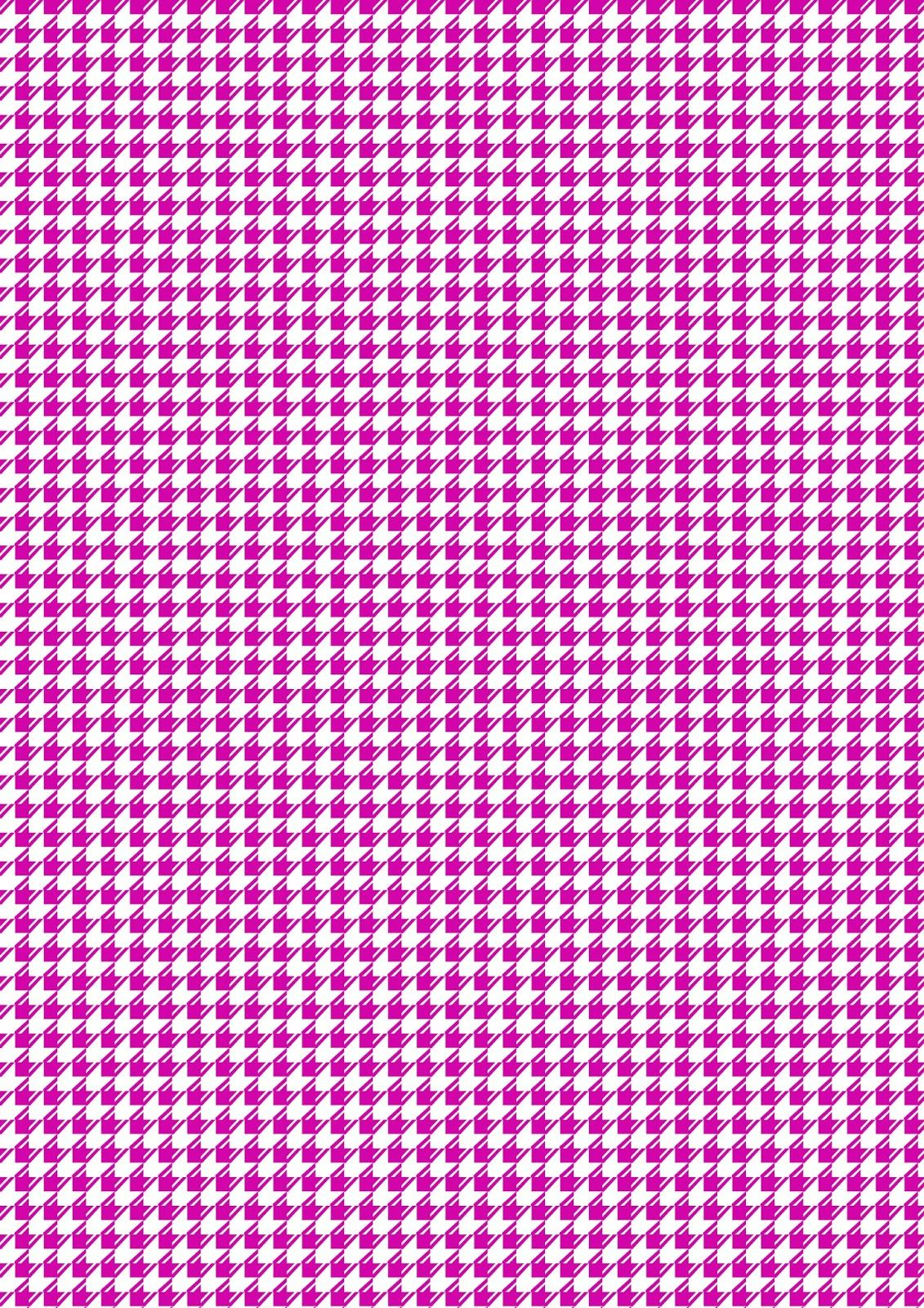 FREE printable purple-white pattern paper (dogtooth pattern ...