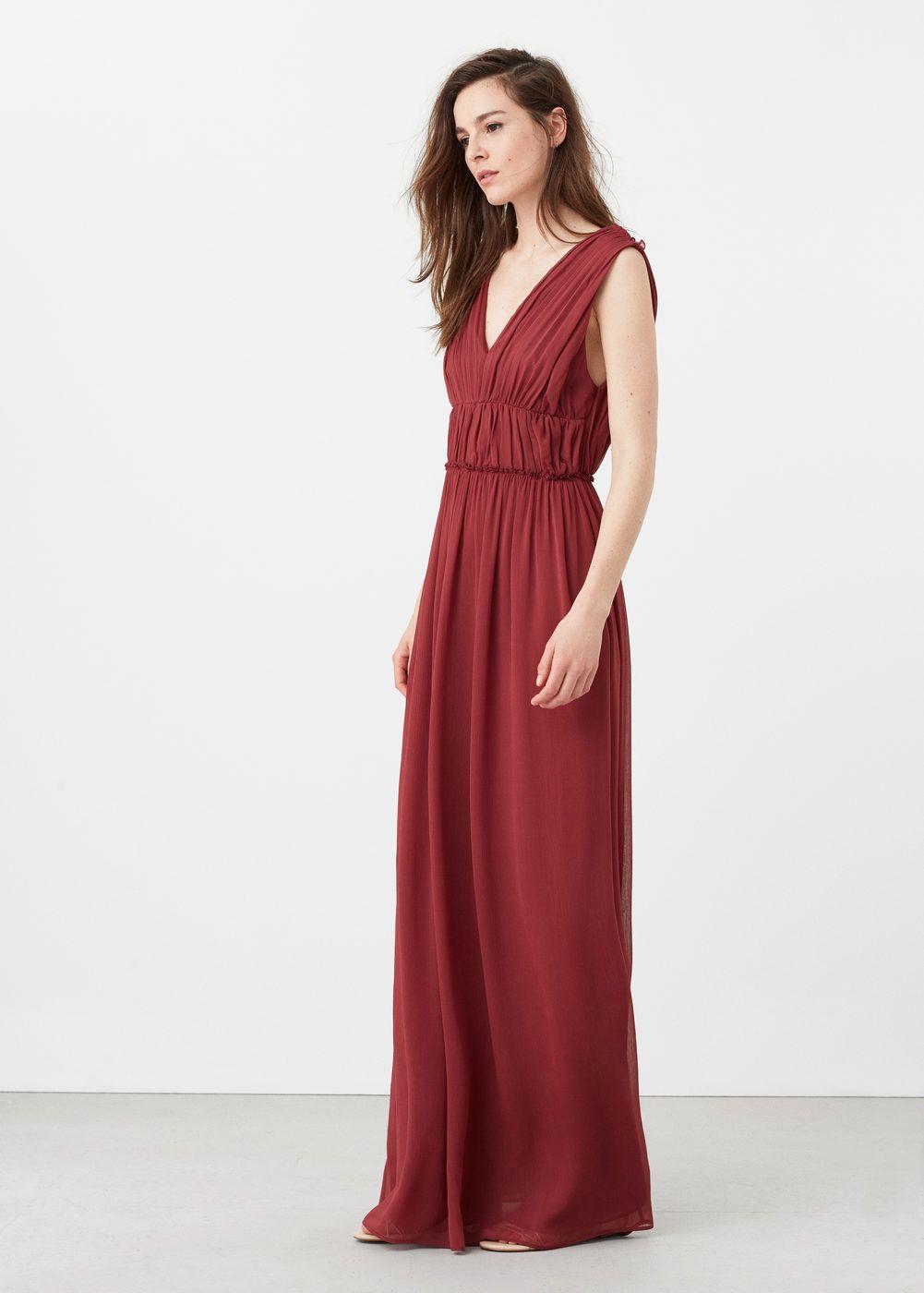 Długa drapowana sukienka - Kobieta   wedding   Dresses, Drape gowns ... 7d7860211a00