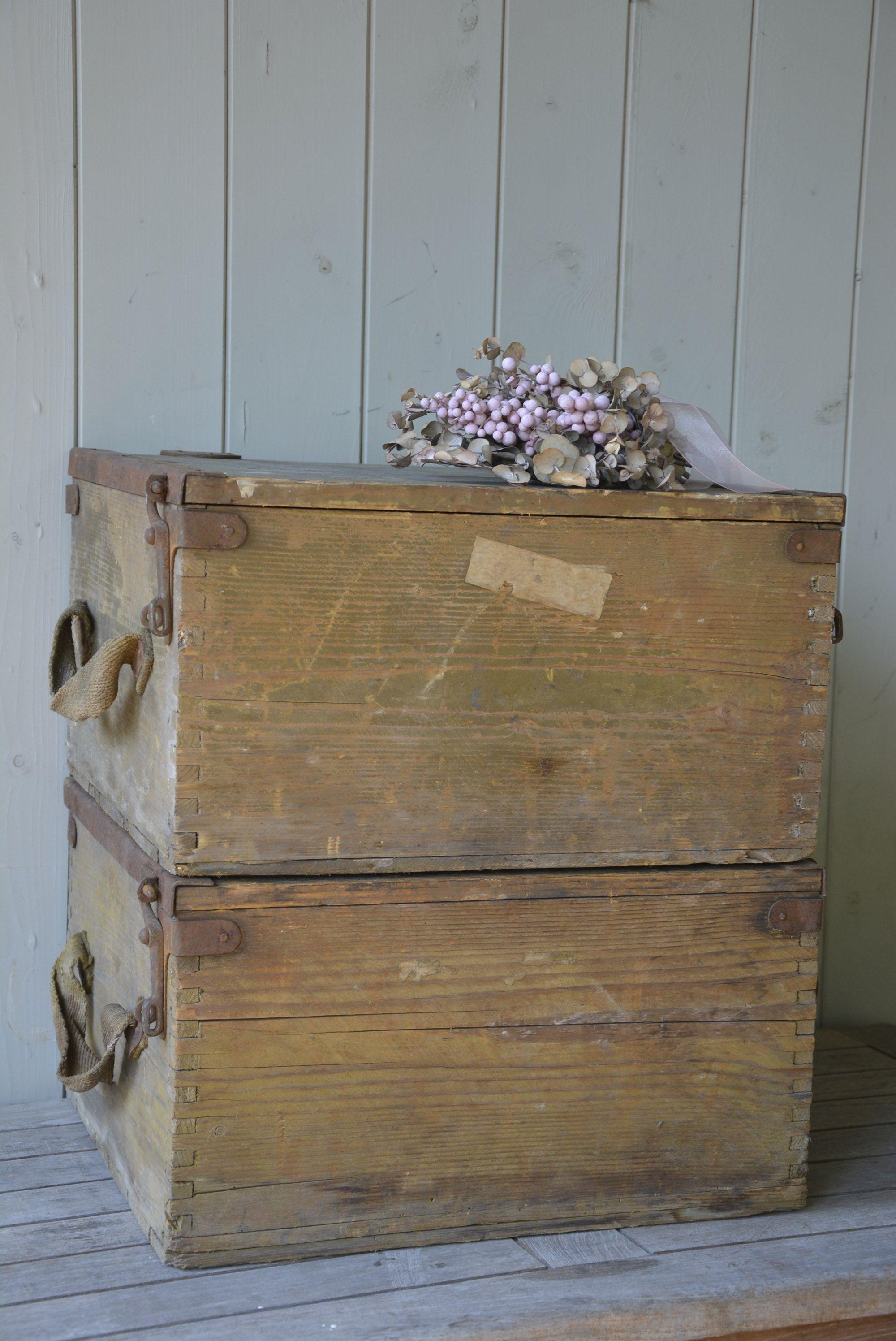 cf57ac6e3fe Brocante, houten kisten. Verkrijgbaar bij www.oma-an.nl | Opbergers ...