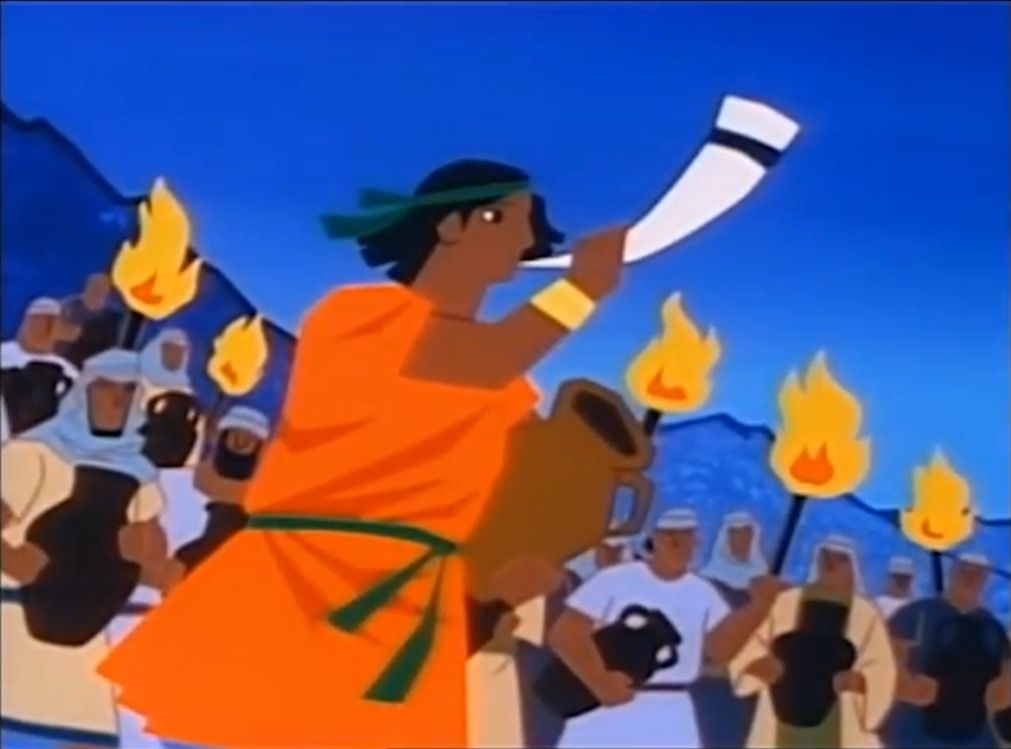 S1e10 Pitchers Of Fire Gideon Superbook Old And New Testament