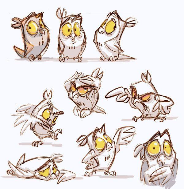 Join us http pinterest for Cartoon owl sketch