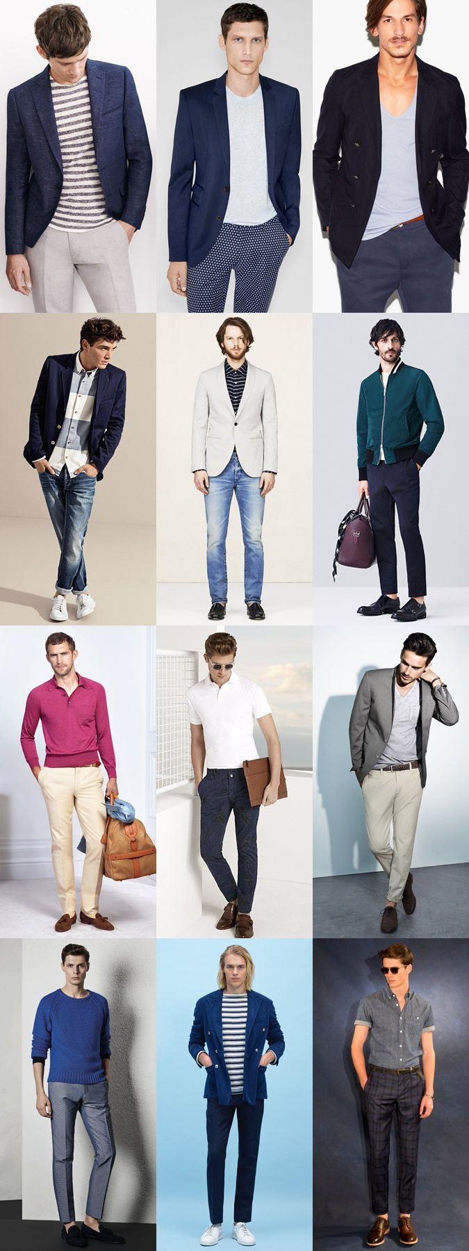 Men S Dress Down Friday Outfit Examples Using Separates