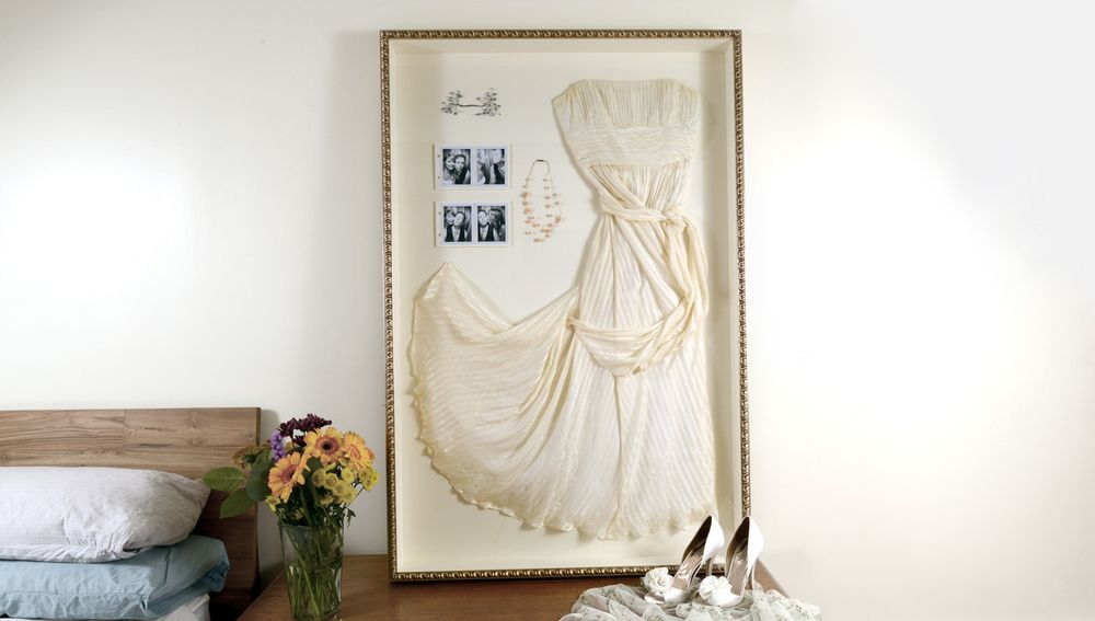 Frame It: The Wedding Dress | Pinterest | Framed wedding dresses ...