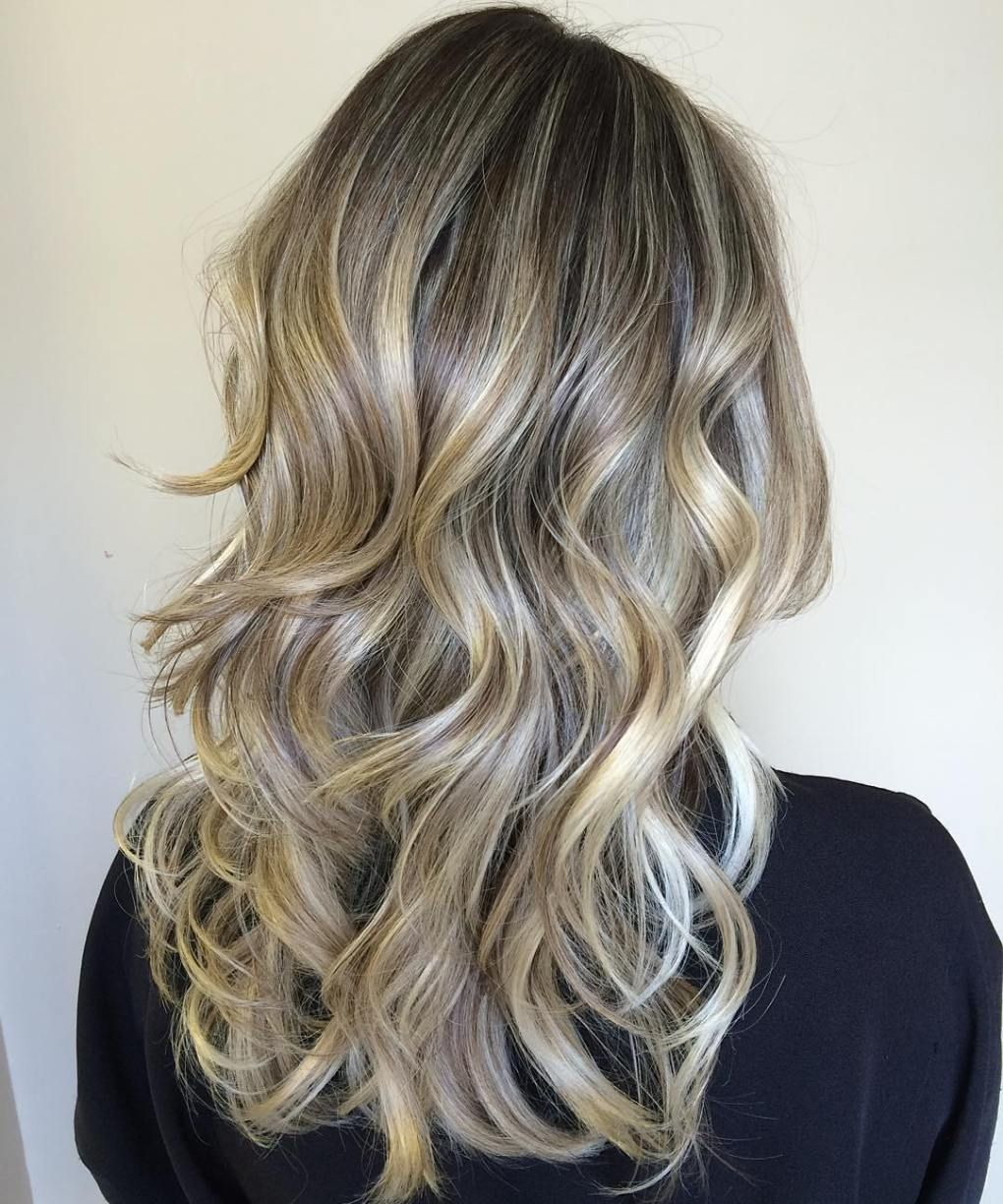 cute layered hairstyles and cuts for long hair ash blonde hair