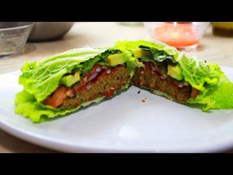Quinoa raw vegan burger youtube food vegetarian no meat quinoa raw vegan burger youtube forumfinder Images