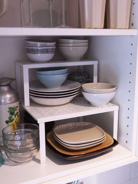 Variera Plankinzet Wit Shelf Organizer Shelves And