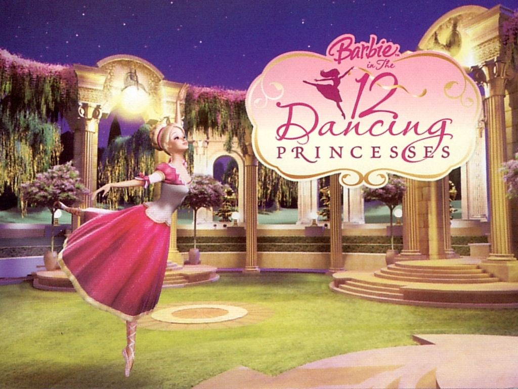 Barbie 12 dancing princesses barbie in the 12 dancing princesses wallpaper 31795256 fanpop - Barbie and the 12 princesses ...