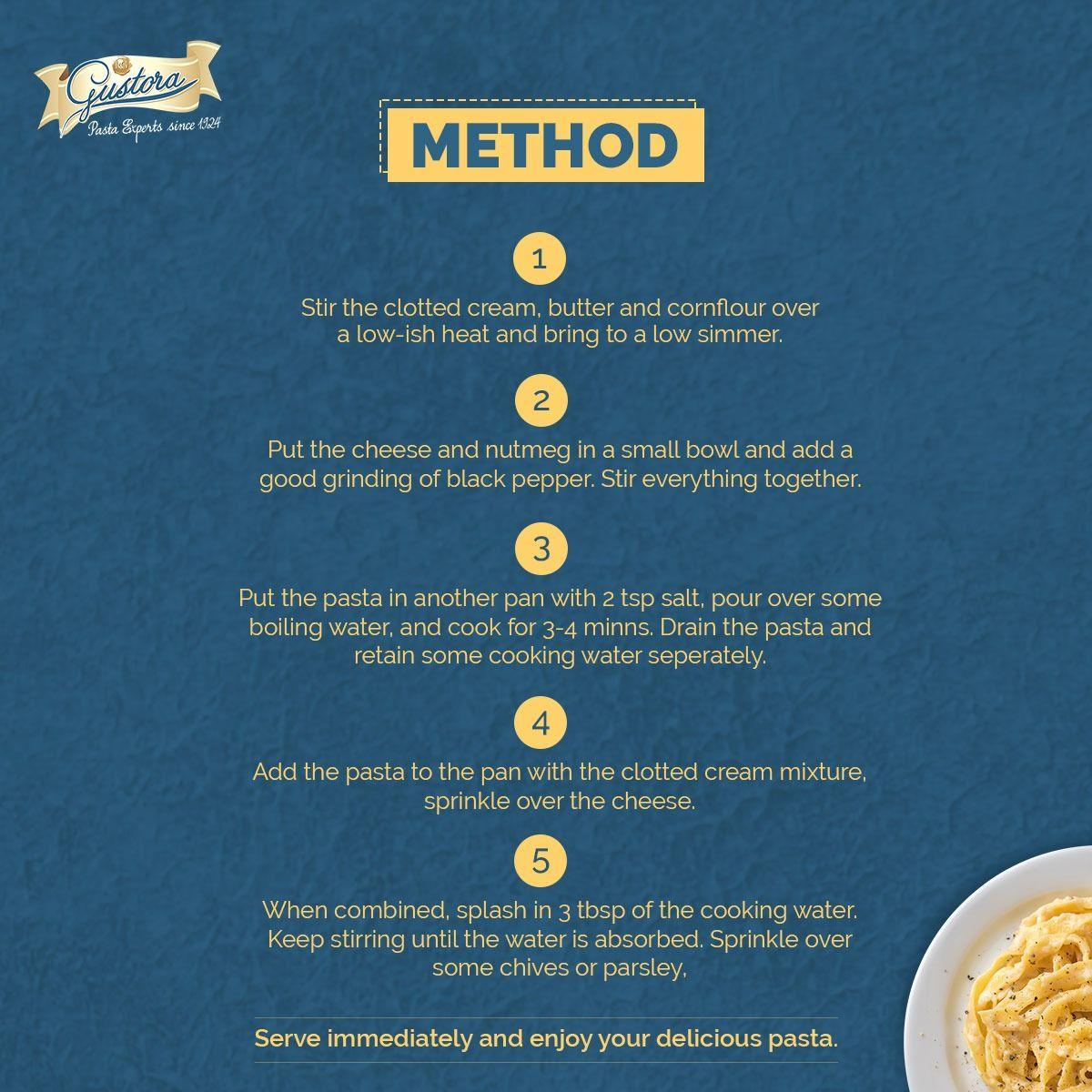 Pin On Gustora Pasta Recipe