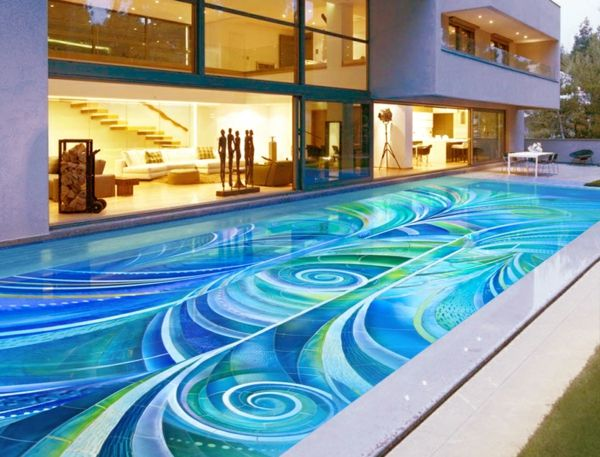 Mid Century Swimming Pools Google Search Mosaic Tile Designs Tiles Mosaics
