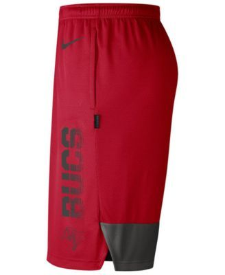 3f6cc64b Nike Men's Tampa Bay Buccaneers Player Knit Breathe Shorts - Red S ...